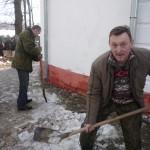 Image for Казаки провели уборку на территории возле  храма