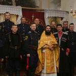 Image for 13 октября Клинские казаки были приглашены на годовщину Волоколамской сотни и день рождения батюшек Валерия и Геннадия