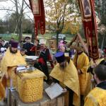 Image for 29 сентября состоялся чин освящения закладного камня храма св. прав. Алексия Московского (Мечёва) в деревне Стреглово