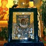 Image for 9 января в Демьяновский храм был привезён чудотворный образ Песчанской (Крестоходной) Божией Матери