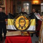 Image for 9 ноября 2014 года был совершен чин освящения знамени Клинского городского казачьего отдела