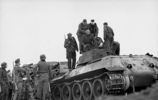 Russland, Festnahme russischer Panzerbesatzung