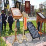 Image for В Клину освятили закладной камень будущей часовни Николая II