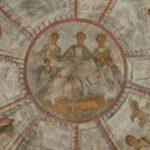Image for Уникальные раннехристианские фрески нашли в катакомбах Рима с помощью ультратонкого лазера